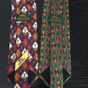 2 for 30$ 🏌🏾♂️LONGCHAMP golf pattern tie